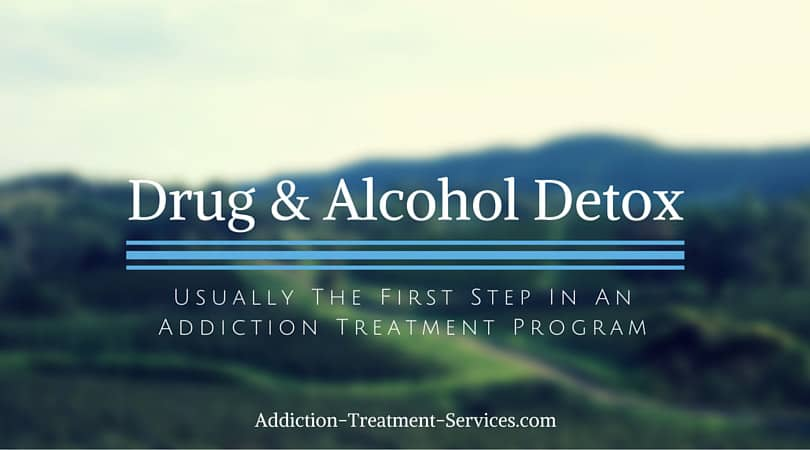 Drug And Alcohol Detoxification Services